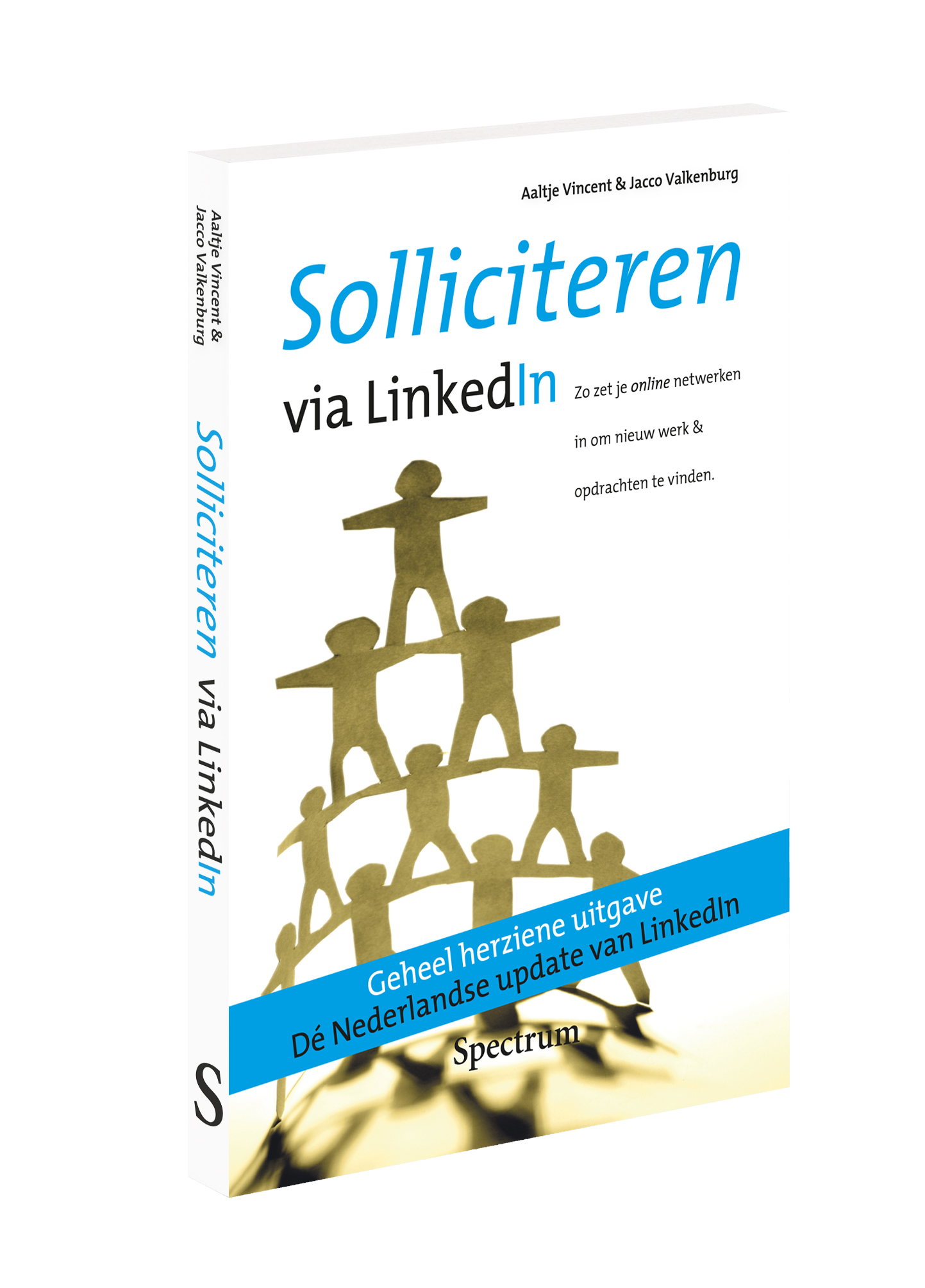 3D cover Solliciteren via Linked in 2e herdruk