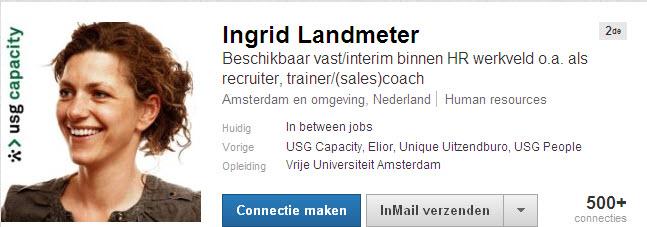 LinkedIn nieuwe profiel nl