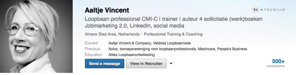 LinkedIn Premium Profiel