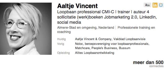 LinkedIn Standaard Profiel