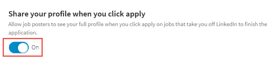 linkedin-share-your-profile-when-you-apply