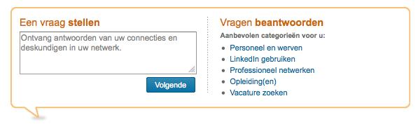 LinkedIn Antwoorden