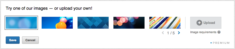 LinkedIn achtergrond afbeelding
